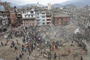 ネパール 地震 震度