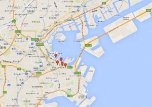 まれ 横浜ロケ地 マップ