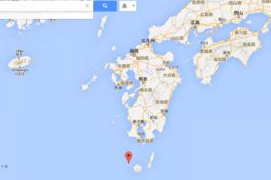 くちのえらぶ島 位置 場所 地図