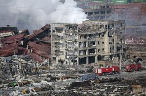 天津市 爆発 救助活動 日本企業