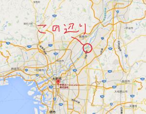 大阪 中一 殺人事件 地図 場所 位置