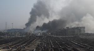中国 工場 事故 画像