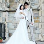 向井理と榮倉奈々のウェディング写真 可愛くてカッコイイ結婚式画像