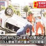 JR宮崎駅前で交通事故 車が暴走した被害と事件現場地図で見た場所・位置