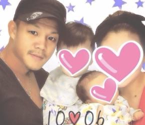 亀田興毅 家族写真