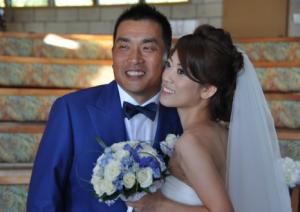 山元妻 再婚 離婚 結婚 画像 結婚式