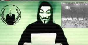 アノニマス イスラム国 宣戦布告 動画 画像