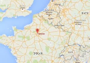 バタクラン 地図 テロ 位置 場所