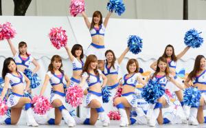 横浜DeNAベイスターズ・diana 画像 チアリーダー 写真