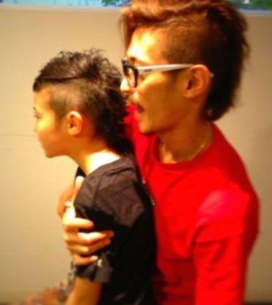 窪塚洋介と前妻・のんちゃんとの子ども(息子)画像・名前