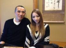 加藤沙里 父親 ツーショット写真