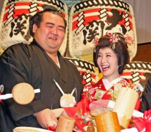 琴奨菊 結婚式 画像 披露宴