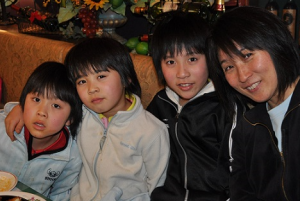 平野美宇 兄弟 姉妹 家族写真