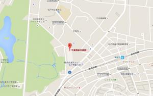 清原和博 病院 地図 場所 位置