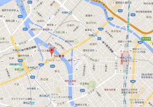 笠原将生 飲食店 場所 地図