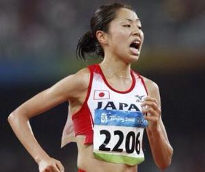マラソン福士加代子 笑顔 画像