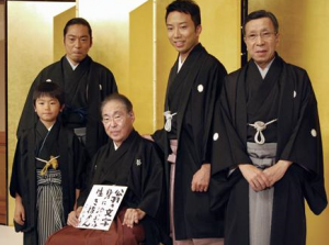 香川照之 子供 息子 家族写真画像