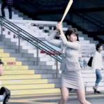 かわいいと評判の稲村亜美が始球式で見せた神ピッチング動画・画像